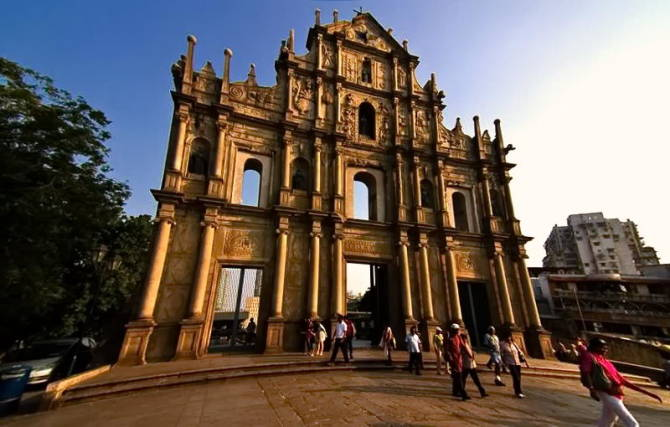 руїни церкви Святого Павла в Макао