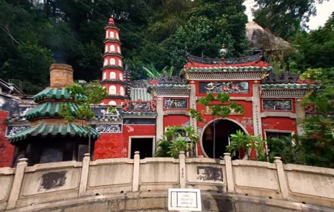 храм A-Ma в Макао