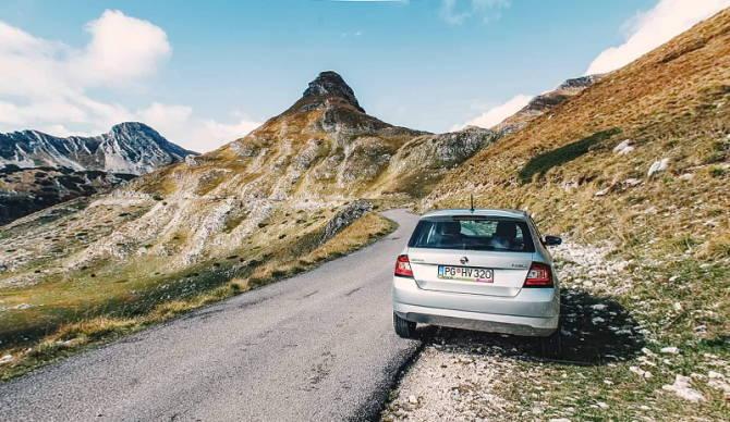 прокатне авто в Чорногорії