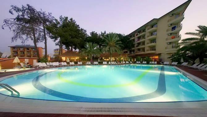 Отель Palm D´or Hotel в Сиде