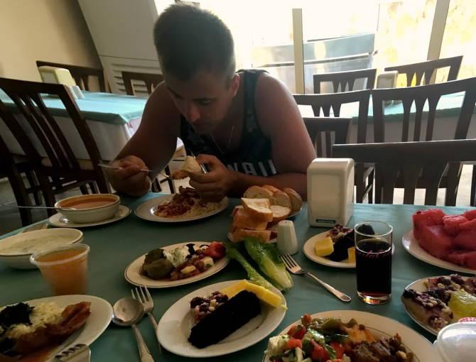 питание в отеле Palm D´or Hotel