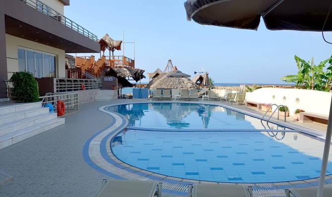 Басейн готелю Ностос