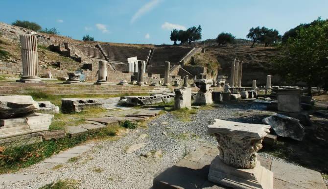 античне місто Прієна