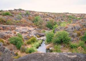 Арбузинський каньйон – неперевершений гранітний лабіринт