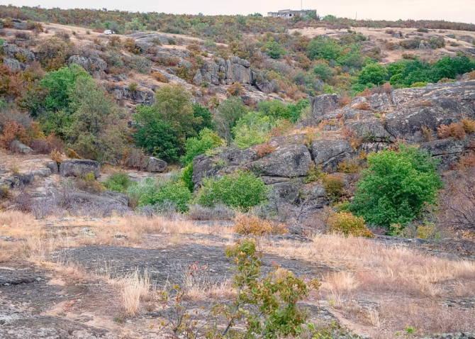 Фото: Арбузинський каньйон