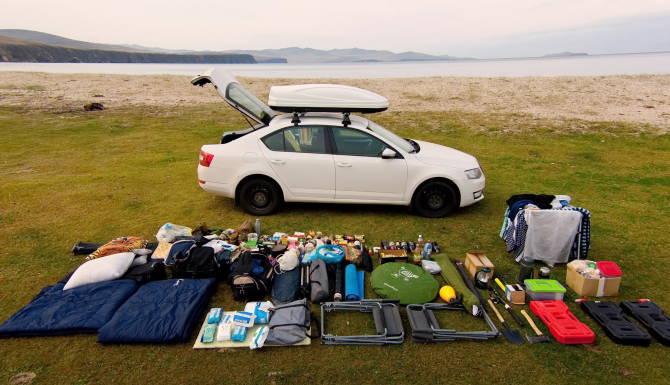 речі для автомобільної подорожі