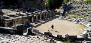 Число відвідувачів античного міста Прієна в Туреччині росте