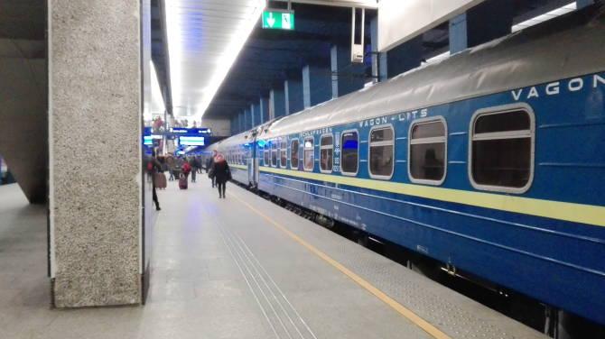 потяг 067К Київ-Варшава