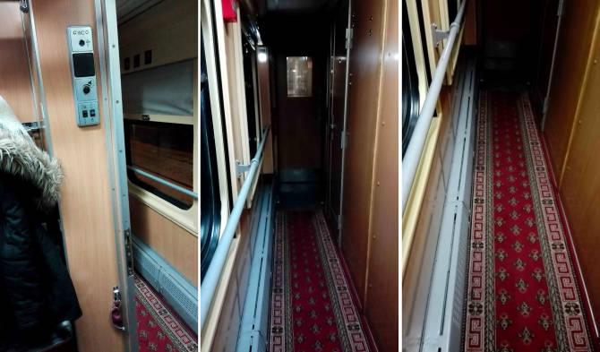 Коридор потягу Київ-Варшава
