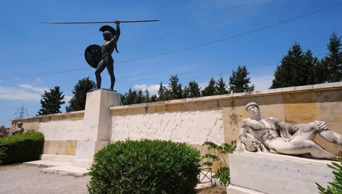 Фермопіли: пам'ятник на місці битви