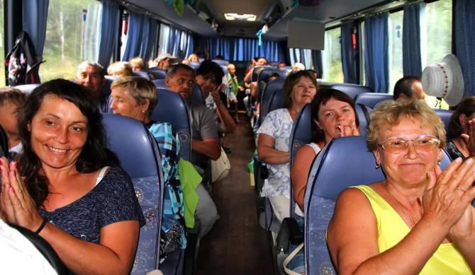 долгая поездка в автобусе