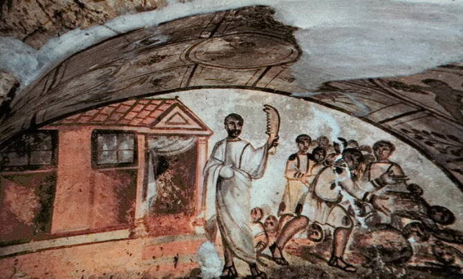 катакомби на Віа Латіна