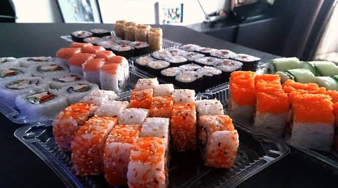 суши з доставкою на дом