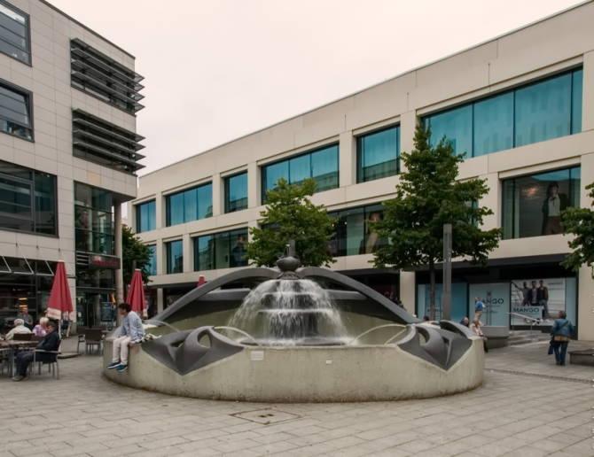 фонтан в місті Гаґен