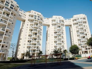 Район багатоповерхівок міста