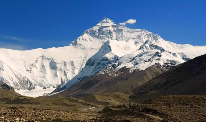 найвища гора світу - Еверест