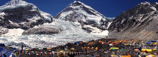 табір на Евересті