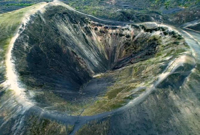 фото вулкану Парикутин