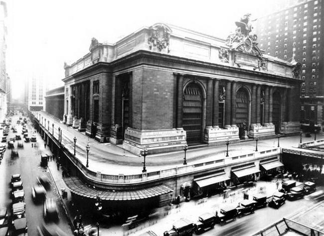 Нью-Йорк- центральний вокзал в минулому