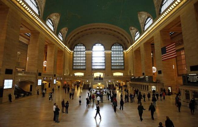 зал Центрального вокзалу Нью-Йорка