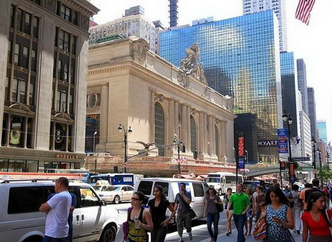 будівля Центрального вокзалу Нью-Йорку