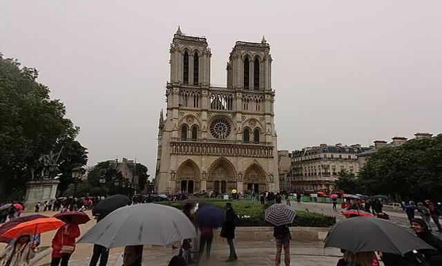 Париж. Собор Паризької Богоматері