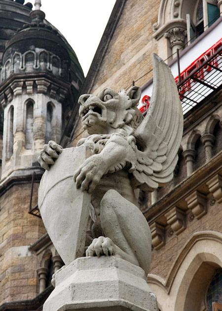 фігура царственого лева