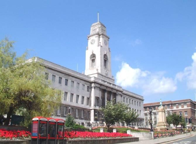Барнслі. Town Hall