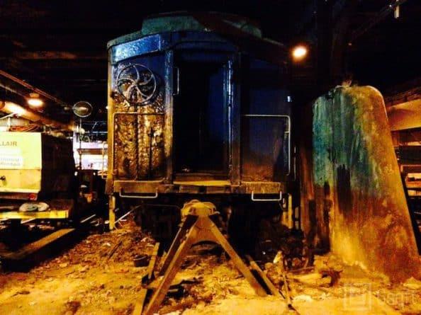 таємний шлях для потягів