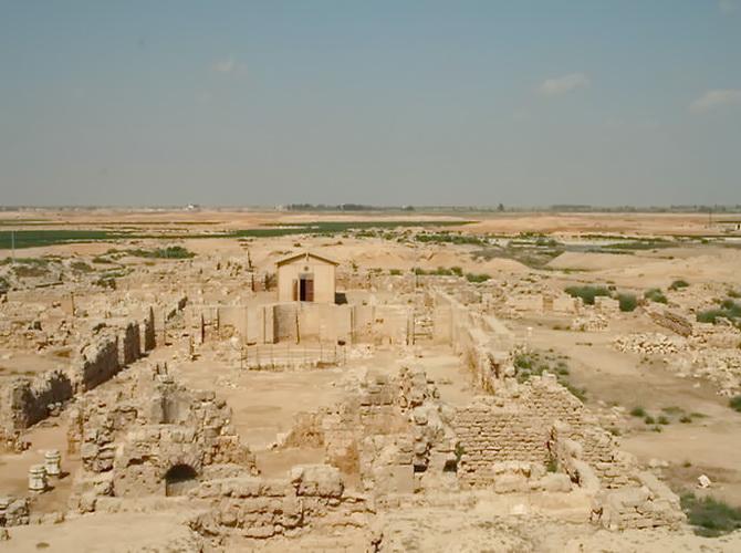 місто Абу-Мена