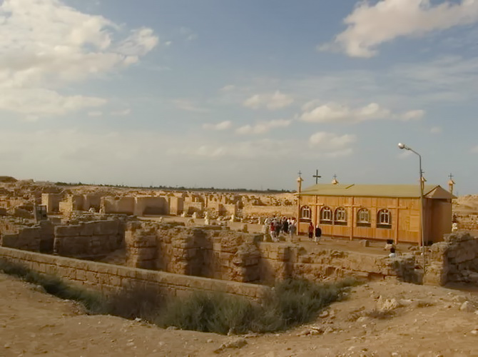 Храм біля древнього міста Абу-Мени