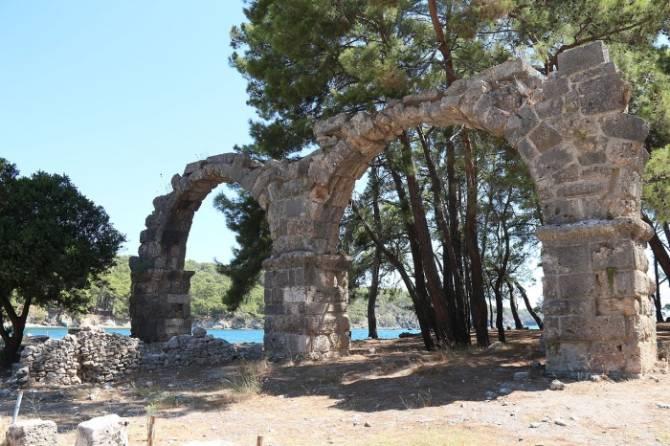 Фаселіс, акведук