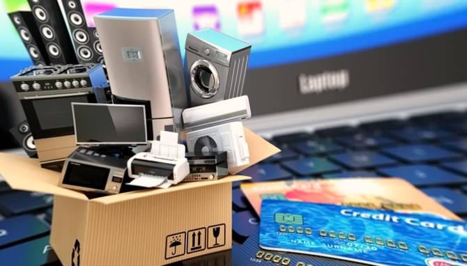 покупка товаров в интернет-магазине электроники